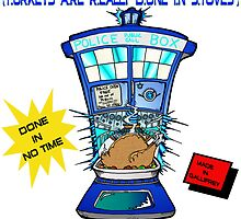 Tardis Turkey Cooker by Skree