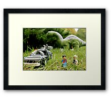 Miscalculation Framed Print
