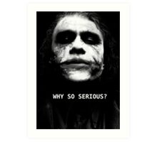 The Joker. Art Print