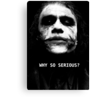 The Joker. Canvas Print