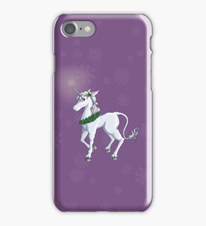 Holly Unicorn iPhone Case/Skin