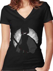 Decretum Women's Fitted V-Neck T-Shirt