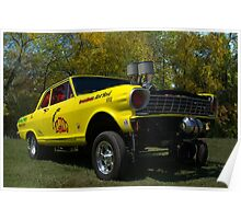 1962 Chevy II Gasser Dragster Poster