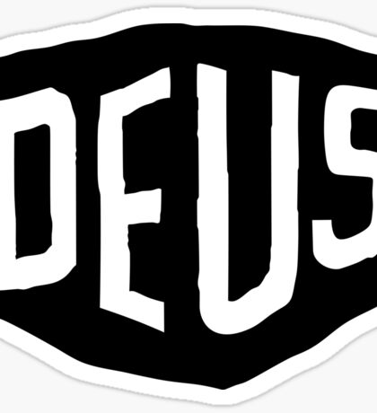 DEUS (god from the machine) Sticker