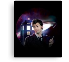 I'm The Doctor! Canvas Print