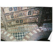 Ceiling of  Palazzo del Capitano on Piazza dei Signori Verona Italy 19840419 0045  Poster