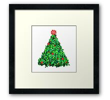 Holly Tree Framed Print