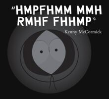 South park - Kenny quote by Lamamelle
