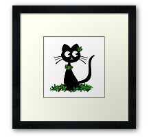 Holly Neko Framed Print