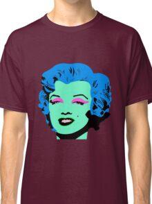 Blue Marilyn Monroe Classic T-Shirt