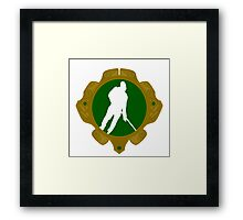 Irish Hockey Framed Print