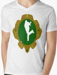 Irish Road Bowling Mens V-Neck T-Shirt