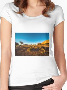 Monument Valley branch Women's Fitted Scoop T-Shirt