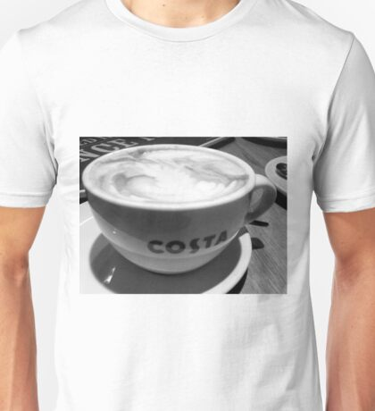 COFFEE AT COSTA Unisex T-Shirt