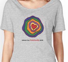 Hillman City community heart Women's Relaxed Fit T-Shirt