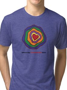 Hillman City community heart Tri-blend T-Shirt