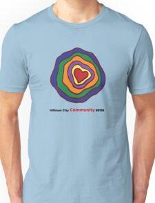 Hillman City community heart Unisex T-Shirt