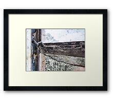 time to kill Framed Print