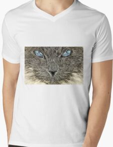 Wild nature - pussy #16 Mens V-Neck T-Shirt
