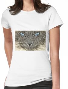 Wild nature - pussy #16 Womens Fitted T-Shirt