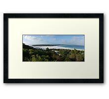 Bremer Bay sand bar Framed Print