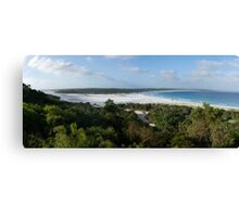 Bremer Bay sand bar Canvas Print