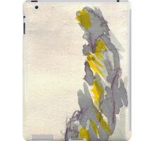Yellow to Grey iPad Case/Skin