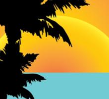 Ocean View Sticker