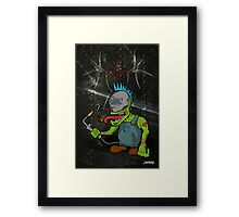 Got a Light? Framed Print