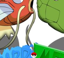 Magikarp vs. Metapod - Ultimate Showdown Sticker