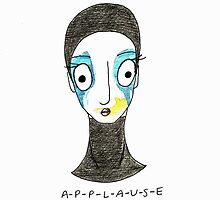 Applause Cartoon  by Tom Monforti