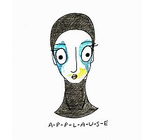 Applause Cartoon  Photographic Print