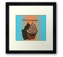 cuppy cake Framed Print