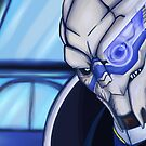 Vakarian by Ophibell