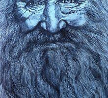 Man with beard by ArtbyChaune