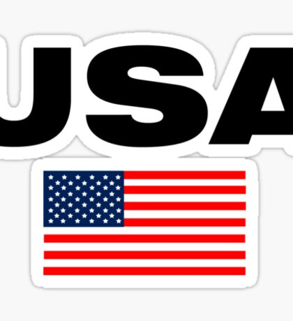 USA Horizontal Sticker