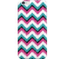 Colorful Ikat Chevron Pattern iPhone Case/Skin
