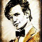 Matt Smith Dr Who by fantasytripp