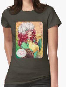 X-Men Rogue Womens Fitted T-Shirt