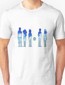 AnoHana blue sky silhouettes T-Shirt