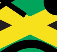 Jamaican Smiley Sticker