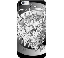 Topsy Turvy Worlds #1 iPhone Case/Skin