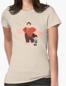 The Dynamic Duo Womens Fitted T-Shirt