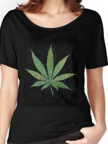Pot Leaf Women's Relaxed Fit T-Shirt