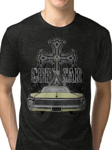 God's car Tri-blend T-Shirt