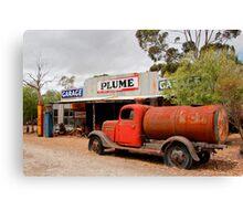 Australian Heritage Garage Canvas Print