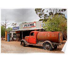 Australian Heritage Garage Poster