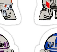 TEENAGE MUTANT NINJA ROBOTS + weapons Sticker