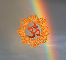 Om with Rainbow by fitch