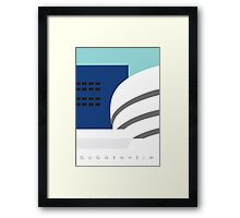 GUGGENHEIM, New York Framed Print